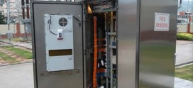 Software controlled Outdoor Battery Cabinets with DC free-cooling with new battery technology