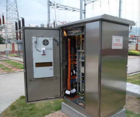 Outdoor Power Cabinets 3kW modules in steps to 21kW
